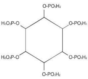 Struktura fitinske kiseline