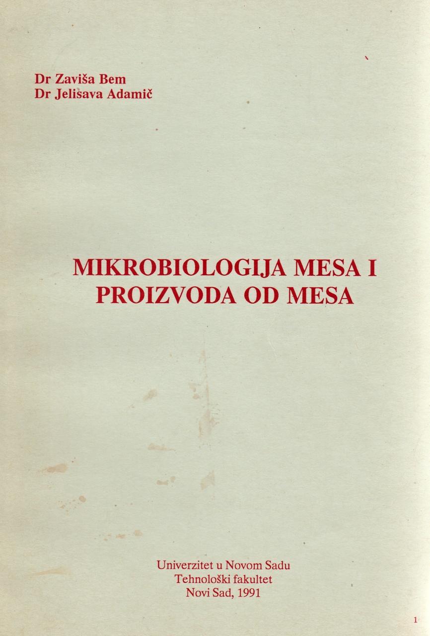 Mikrobiologija mesa i proizvoda od mesa