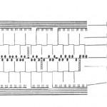 Struktura ćelijskog zida 1. celuloza; 2. arabani, ksilani; 3. pektin; 4. protein; 5. arabino galaktan; 6. ksiloglukan