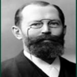 Njemački biokemičar Emil Fisher (1852-1919)