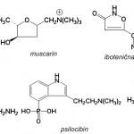 Hemijska struktura nekih otrova koje proizvode brojne vrste gljiva