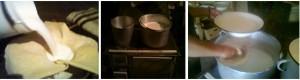 Cijeđenje mlijeka, varenje mlijeka i razlijevanje mlijeka