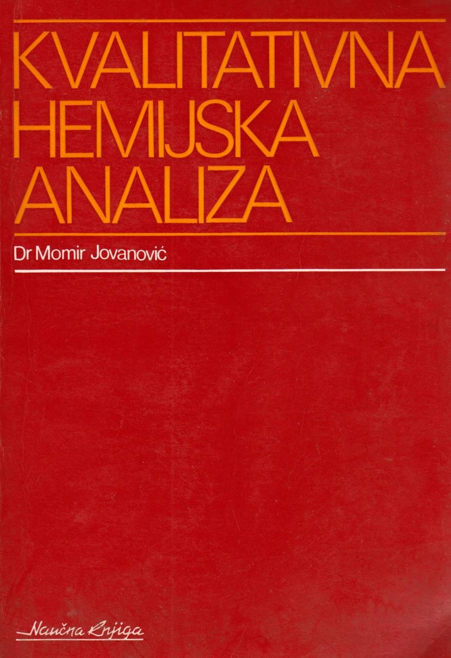 Kvalitativna hemijska analiza